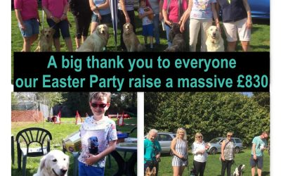 Charity Easter Party raises a record amount for Canine Cancer Research